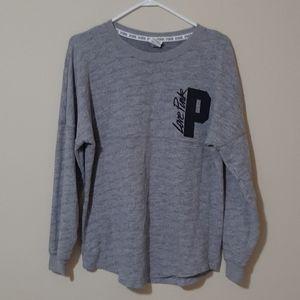 PINK Victoria Secret Grey Crewneck Sweatshirt